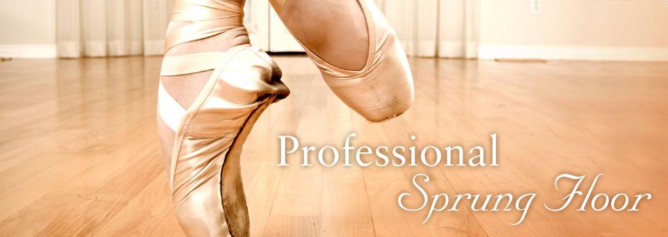 Professional Sprung Floor